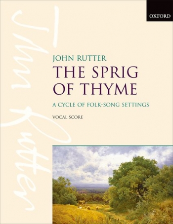 Sprig Of Thyme - Vocal Score - SATB