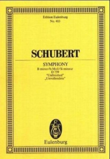 Unfinished Symphony: Miniature Score