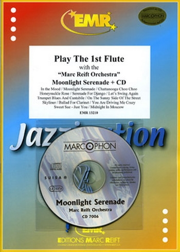 Play The 1st Flute With The Marc Reift Orchestra: Moonlight Serenade: Book & CD