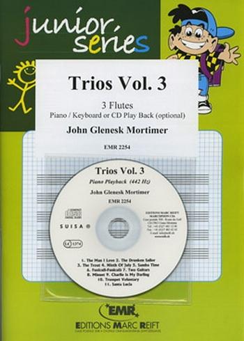 Trios Vol.3: 3 Flutes and Piano Book & CD