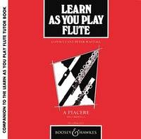 Learn As You Play Flute: CD Only (Wastall)