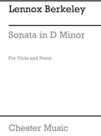 Viola Sonata D Minor Op22: Viola And Piano  (Archive)