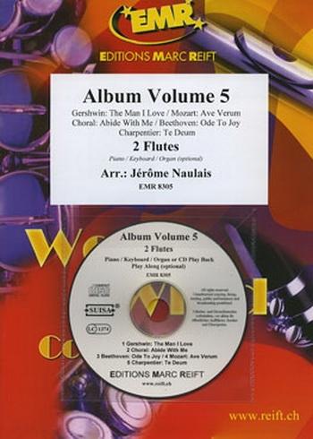 Album: Vol 5: 5  Arrangements:  2 Flutes & Piano: Bk&Cd (arr Naulais)