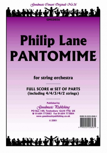 Orch/lane/pantomime/string Orchestra/scandpts