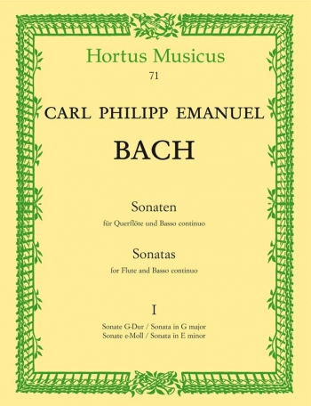 Sonatas Vol.: Flute & Piano (Hortus Musicus)