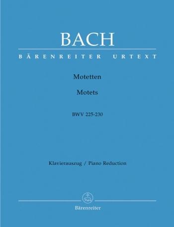 Motets: Bwv225-230: Vocal Score: (Urtext) (Barenreiter)