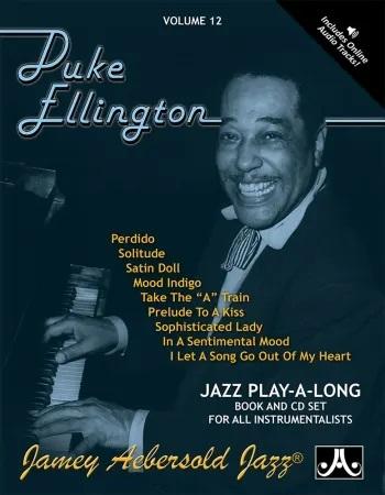 Aebersold Vol.12: Duke Ellington: All Instruments: Book & CD