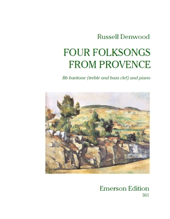 Songs Of Provence French Horn (Emerson): French Or Tenor Horn