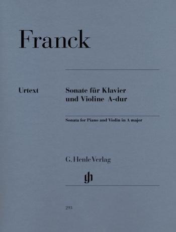 Sonata: A Major: Violin And Piano  (Henle)
