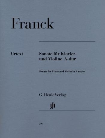 Sonata A Major Violin And Piano (Henle)