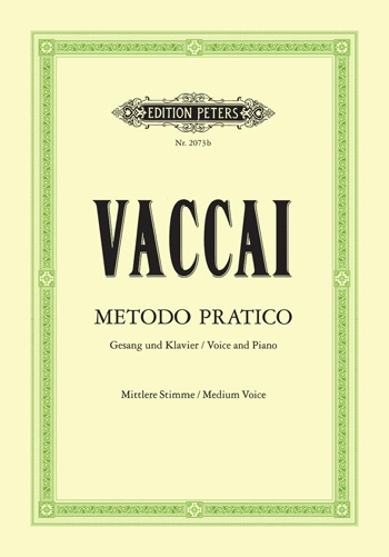 Practical Method (Metodo Pratico): Medium Voice  (Peters)