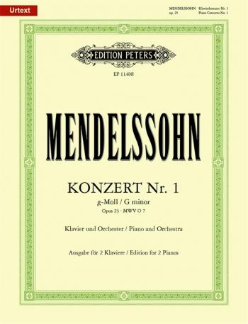 Concerto G Minor Op.25: Piano (Peters)