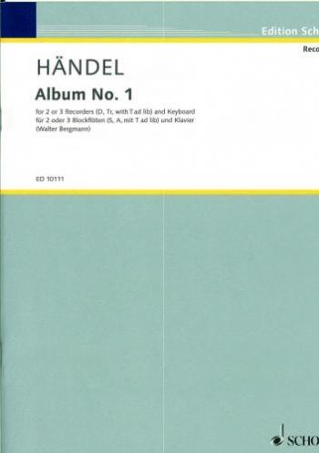 First Album: Recorders: Descant, Treble and Tenor recorders