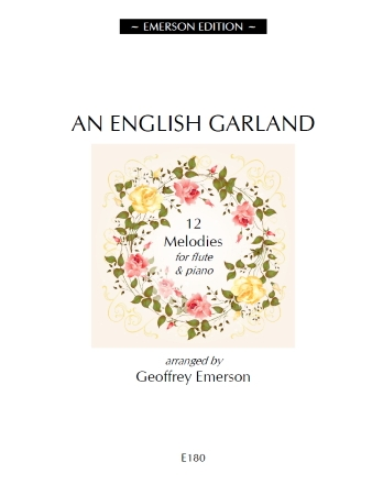 English Garland: Twelve Melodies For Flute And Piano: Vol.1