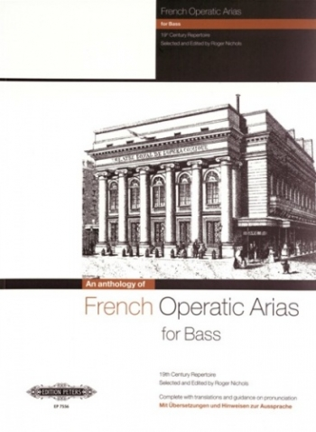 French Operatic Arias For Bass Voice