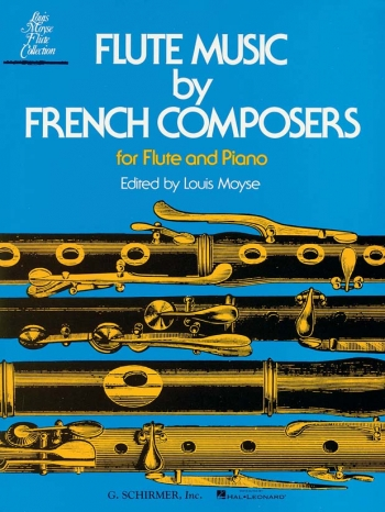 Flute Music By French Composers: Flute & Piano (moyse)