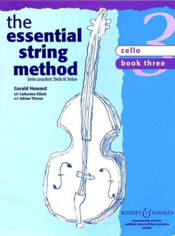 Essential String Method: 3: Violoncello: Tutor  (nelson) (Boosey & Hawkes)