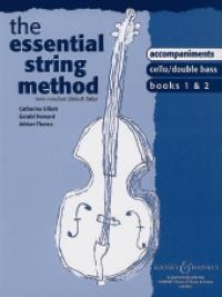 Essential String Method: 1 and 2 Lower Strings: Cello and Double Bass: Piano Accompaniment