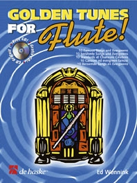 Golden Tunes For Flute: Book & CD