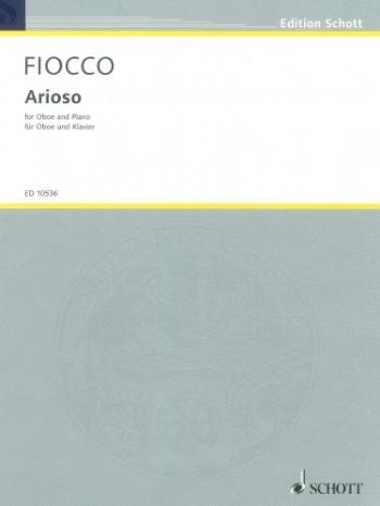 Arioso: Oboe & Piano (Schott)