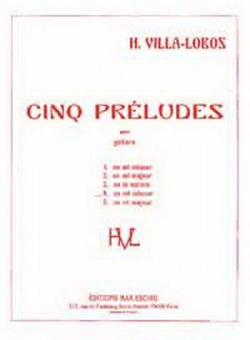 Prelude No 4 E Minor: Guitar Solo Guitar