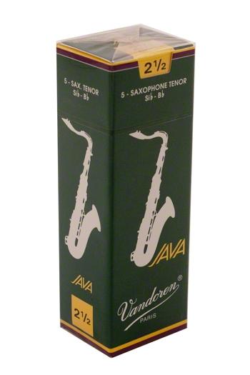 Vandoren Java Green JV26 Tenor Saxophone Reeds