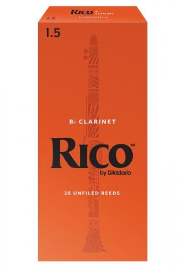 Reeds Rico By D'Addario 1.5 (Box 25)