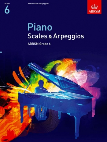 ABRSM Piano Scales, Arpeggios And Broken Chords Grade 6