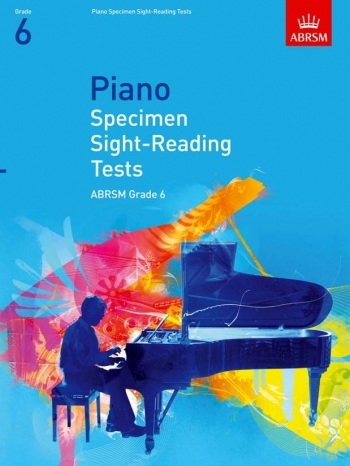 ABRSM Specimen Sight-reading Tests For Piano: Grade 6