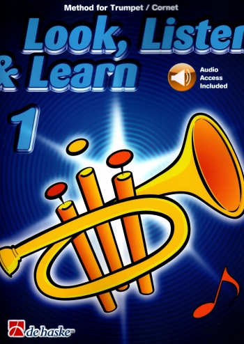 Look Listen & Learn 1 Trumpet: Book & Cd (sparke)