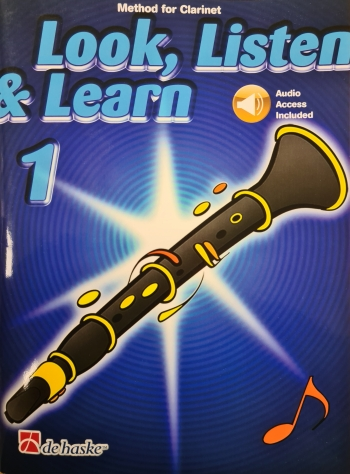 Look Listen & Learn 1 Clarinet: Book & CD  (Sparke)