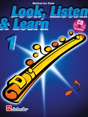 Look Listen & Learn 1 Flute: Book & CD  (Sparke)
