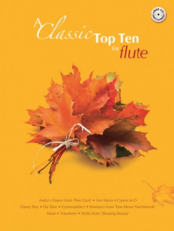Classic Top Ten: Flute Book & CD