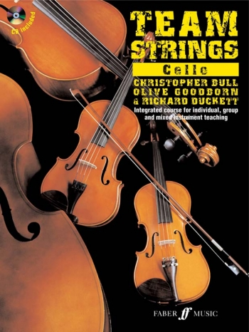 Team Strings: Book 1: Cello: Book & CD  (Faber)