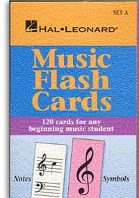 Music Flashcards: Set A: Hal Leonard Student Piano Library