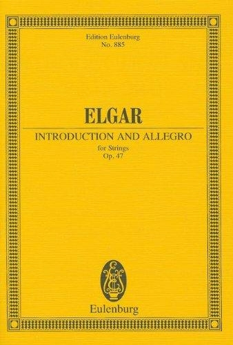 Introduction and Allegro: Miniature Score
