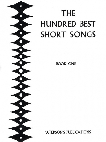 The Hundred Best Short Songs Book 1: Vocal Solo