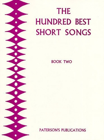 The Hundred Best Short Songs Book 2: Vocal Solo