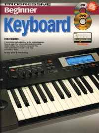 Progressive Beginner Keyboard: Book & Dvd & Cd (Turner & Gelling)