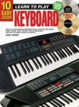 10 Easy Keyboard Lessons: Learn To Play: Book & CD & DVD