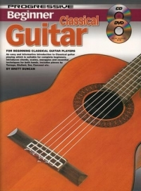 Progressive Beginner Classical Guitar: Book & CD (Duncan)