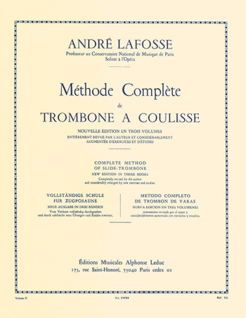 Methode Complete For Trombone Volume II (Leduc)