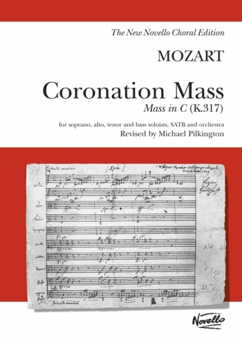 Coronation Mass In C K317: Vocal: Satb