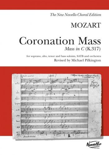 Coronation Mass In C K317: Vocal: Satb