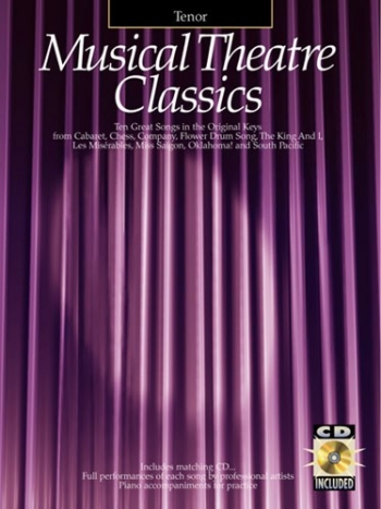 Musical Theatre Classics - Tenor - Vocal