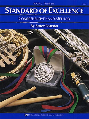 Standard Of Excellence: Comprehensive Band Method Book 2 Trombone Bass Clef