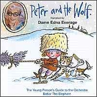 Peter And The Wolf:  Cd Only (Narrator Dame Edna Everag): Naxos CD