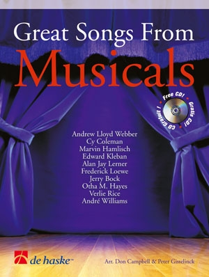 Great Songs From Musicals: Alto Or Tenor Sax: Book & CD