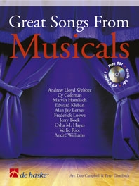 Great Songs From Musicals: Clarinet: Book & CD
