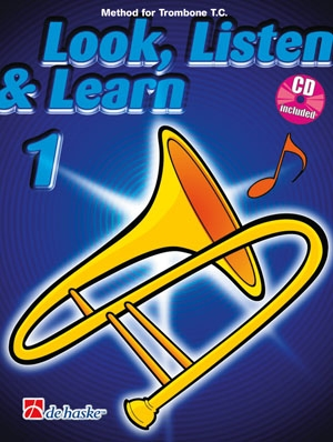 Look Listen & Learn 1 Trombone Treble Clef: Book & Cd  (sparke)